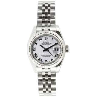 Pre-Owned Rolex Women's Datejust Stainless Steel Automatic Watch