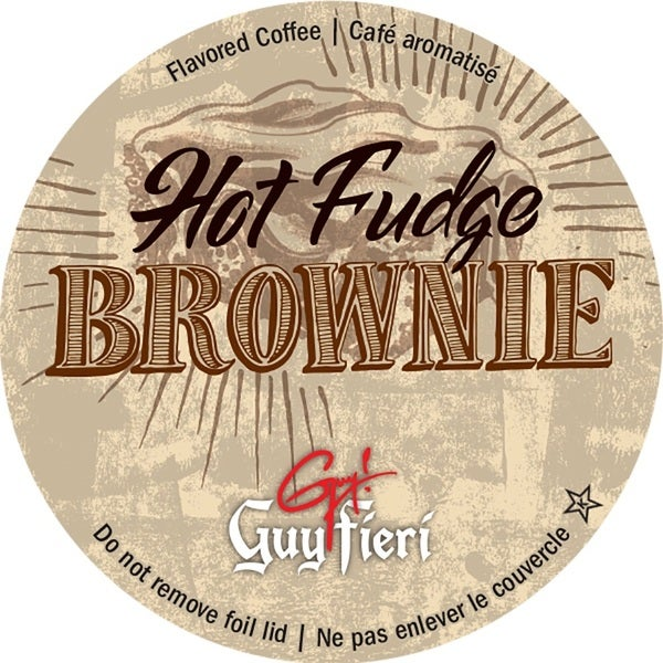 Guy Fieri Hot Fudge Brownie Single Serve Coffee K-Cups