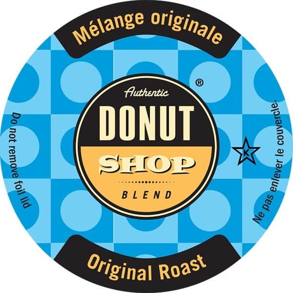 Authentic Donut Shop Original Roast Single Serve Coffee K-Cups