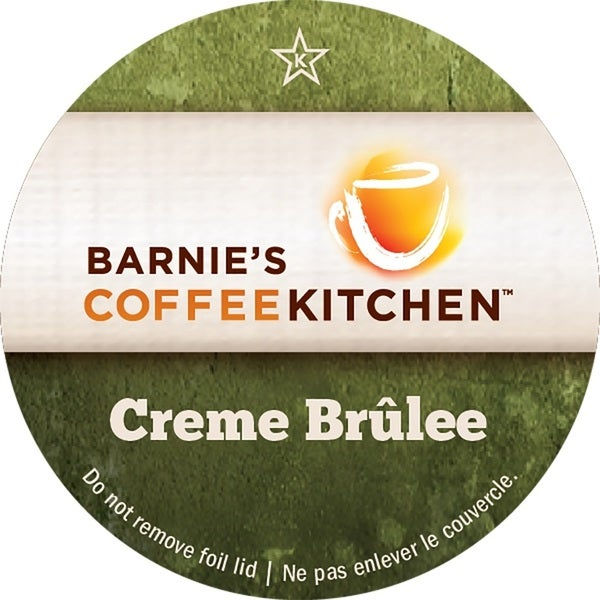 Barnies Coffee Kitchen Creme Brulee' Serve Coffee K-Cups