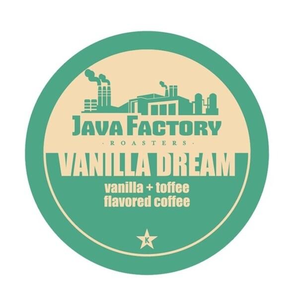 Java Factory Vanilla Dream Single Serve Coffee K-Cups