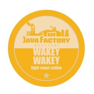 Java Factory 'Wakey - Wakey' Single Serve Coffee K-Cups