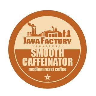 Java Factory 'Smooth Caffeinator' Single Serve Coffee K-Cups