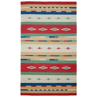 Sedona Blanco Tribal Geometric Area Rug (4' x 6')
