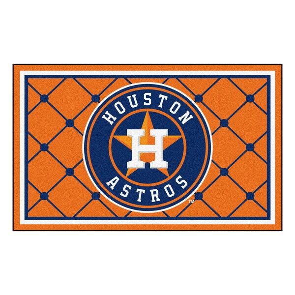Fanmats MLB Houston Astros Area Rug (4' x 6') 13564526