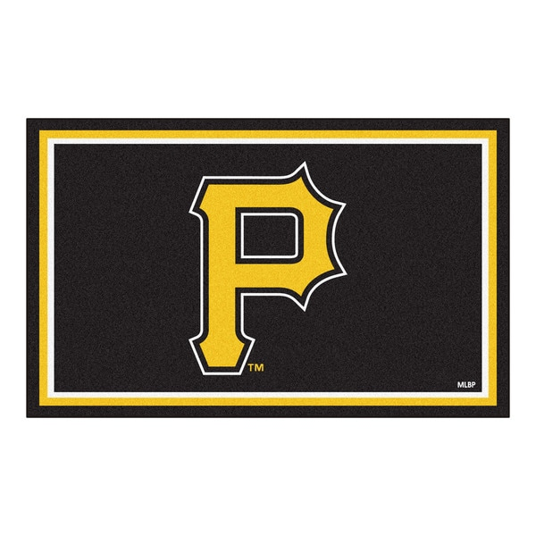 Fanmats MLB Pittsburgh Pirates Area Rug (4' x 6') 13564533
