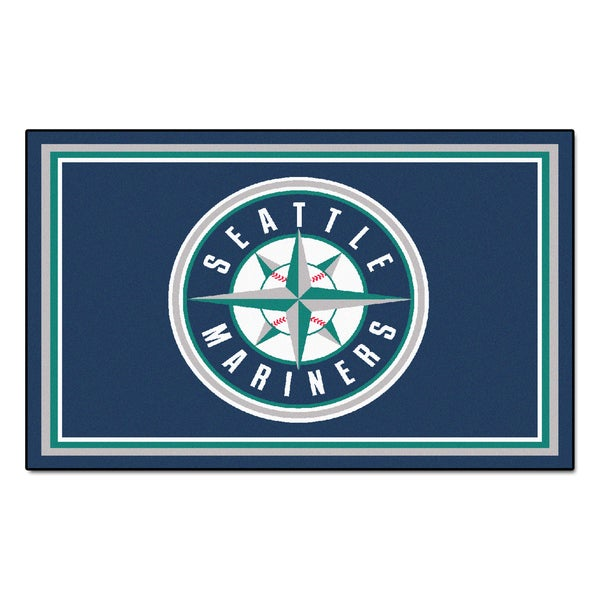 Fanmats MLB Seattle Mariners Area Rug (4' x 6') 13564537