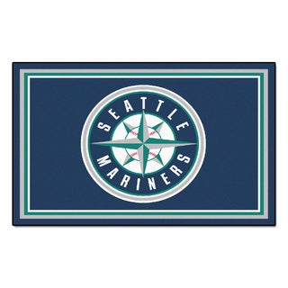 Fanmats MLB Seattle Mariners Area Rug (4' x 6')