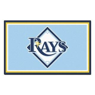 Fanmats MLB Tampa Bay Rays Area Rug (4' x 6')