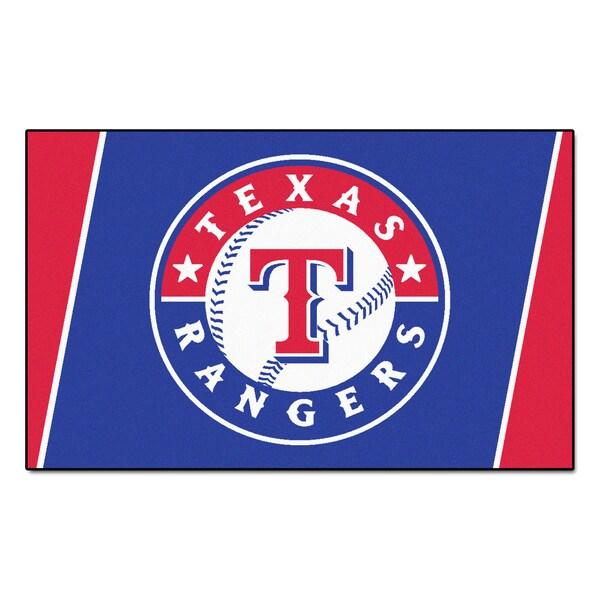 Fanmats MLB Texas Rangers Area Rug (4' x 6') 13564540