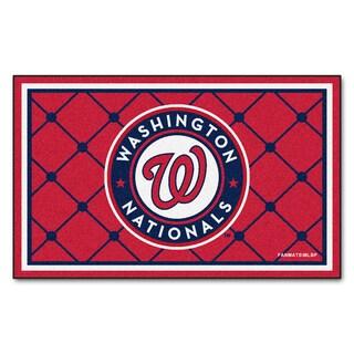 Fanmats MLB Washington Nationals Area Rug (4' x 6')