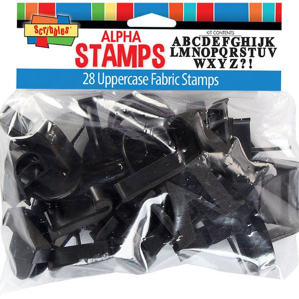 Uppercase Alphabet Stamp Kit