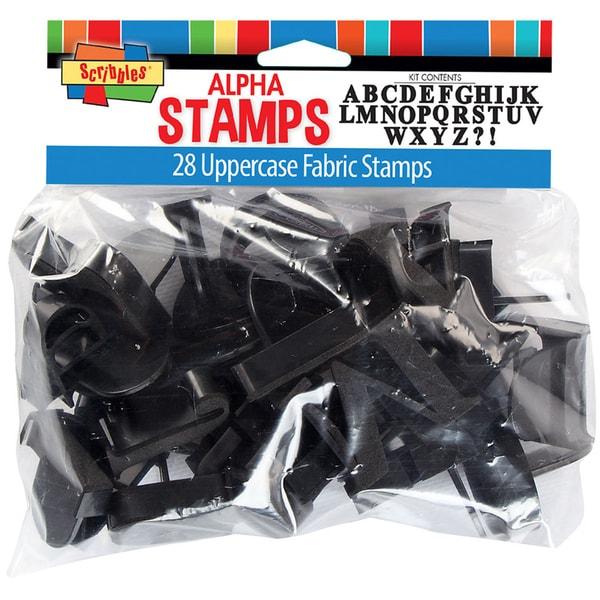 Uppercase Alphabet Stamp Kit