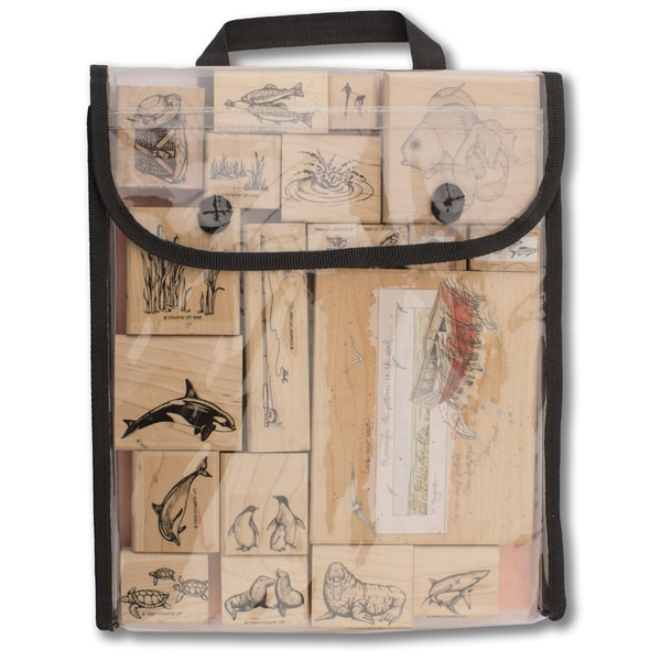 """Stamp, Store & Go Bag Single-Sided-9.5""""X11.5""""X1"""""""