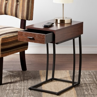Upton Home Delaney Side Table w/ Power and USB