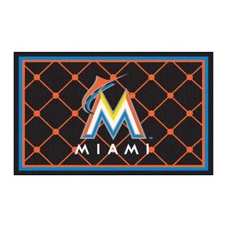 Fanmats MLB Miami Marlins Area Rug (4' x 6')