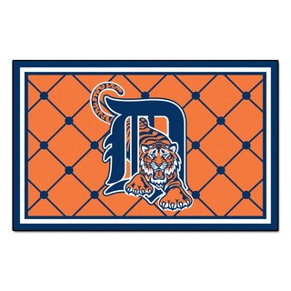 Fanmats MLB Detroit Tigers Area Rug (4' x 6')