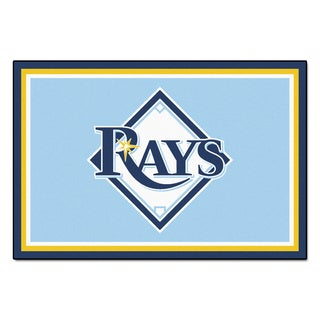 Fanmats MLB Tampa Bay Rays Area Rug (5' x 8')