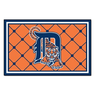 Fanmats MLB Detroit Tigers Area Rug (5' x 8')