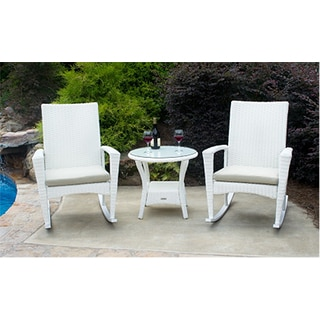 Phat Tommy Bayview Wicker 3-piece Rocker Set