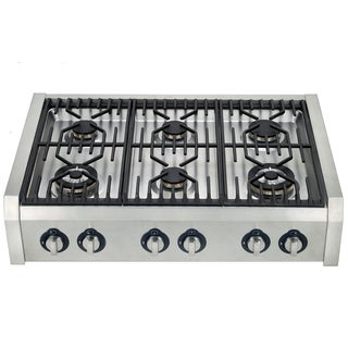 Hypotheory 36-inch Professional-style 6-burner Range Top