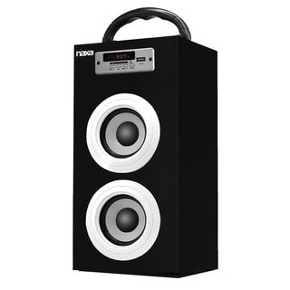 Naxa NAS-3040 Bluetooth FM Radio/ USB and SF Inputs Portable Speaker