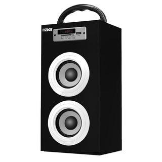 Naxa NAS-3040 Bluetooth FM Radio/ USB and SF Inputs Portable Speaker