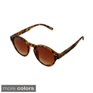 Hot Optix Unisex Large Round Frame Sunglass Readers