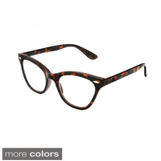 Hot Optix Women's Cat Eye Retro Reading Glasses