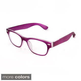 Hot Optix Unisex Soft Touch Retro Readers