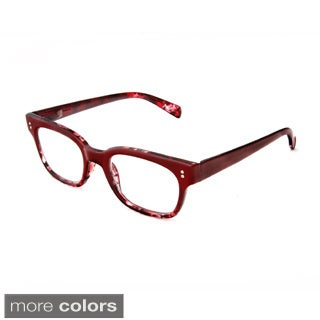 Hot Optix Unisex Square-shaped Retro Reading Glasses
