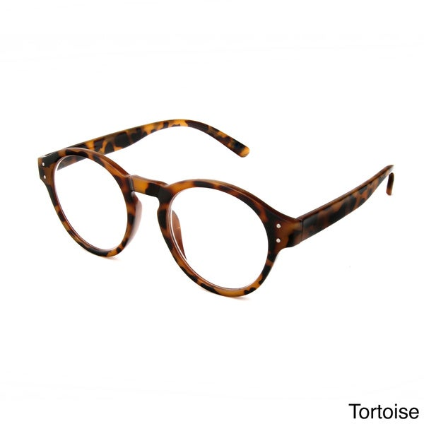 Large Frame Reader Glasses : Hot Optix Unisex Large Round-frame Reading Glasses ...