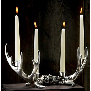 14-point Antler Candle Holder