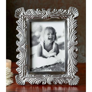 Waves and Swirls Aluminum 5x7 Photo Frame