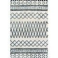 Beni Ourain Moroccan Ivory Wool Area Rug (5' x 8')