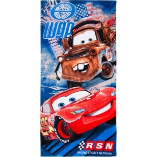 Cars 2 Pit Crew Pals Cotton Beach Towel
