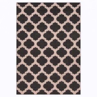 Olivia Contemporary Geometric Indoor Outdoor Area Rug 7 6