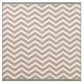 Meticulously Woven Ariana Chevron Indoor/ Outdoor Area Rug (8'9 Square)