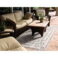 Meticulously Woven Odette Contemporary Geometric Indoor/Outdoor Area Rug (8'9 x 12'9)