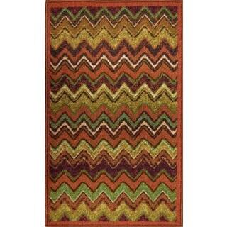 Cali Rust Indoor Mat (3' x 5')