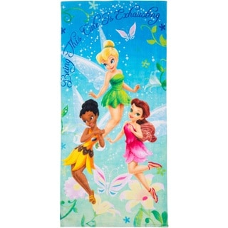 Fairies Being Cute Tinkerbell Beach Towel