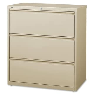 Lorell LLR88027 Putty 3-drawer Lateral Files