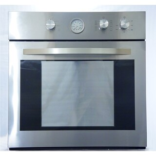 HypoTheory Stainless 24-inch Electric Wall Oven