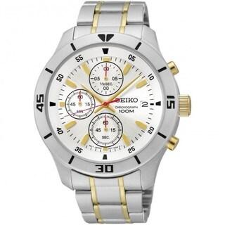 Seiko Men's SKS403 Two-tone Chronograph Watch