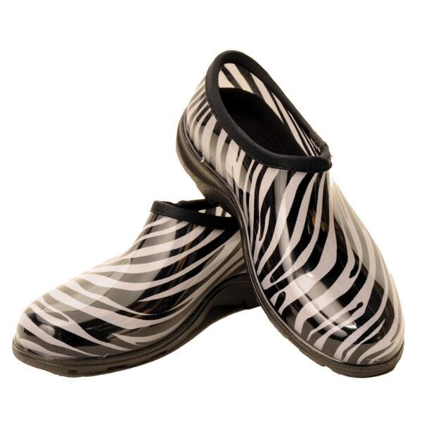 Garden Outfitters Women's Zebra Gardening Shoes (Size 9)