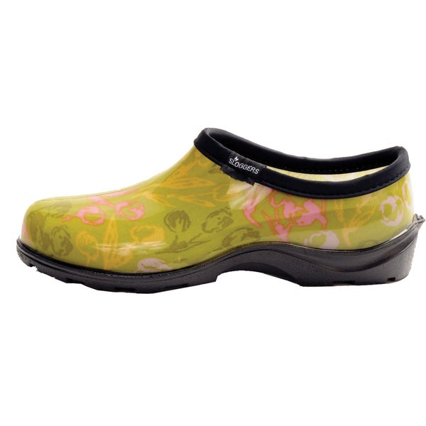 Garden Outfitters Women's Green Rain Shoes (Size 7)