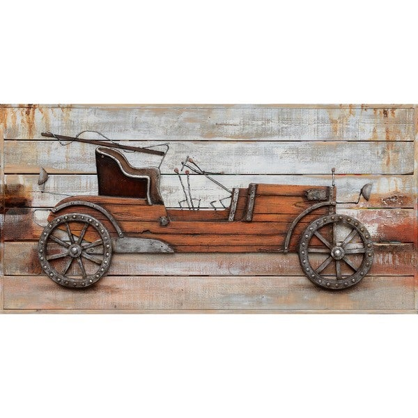 Classic Automobile Cotton Canvas