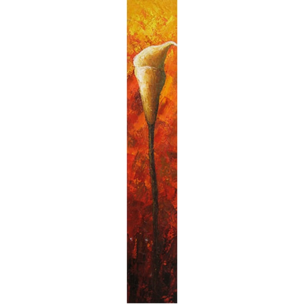Long Stem Fireside Cotton Canvas