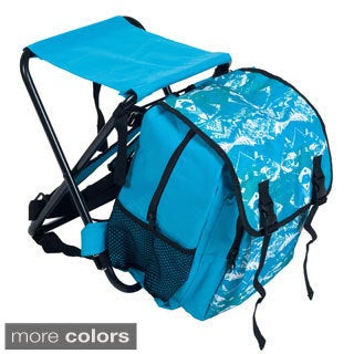 Stalwart Folding Stool and Backpack Combo Chair