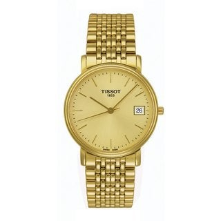 Tissot Men's T52.5.481.21 'T-Classic Desire' Goldtone Stainless Steel Watch